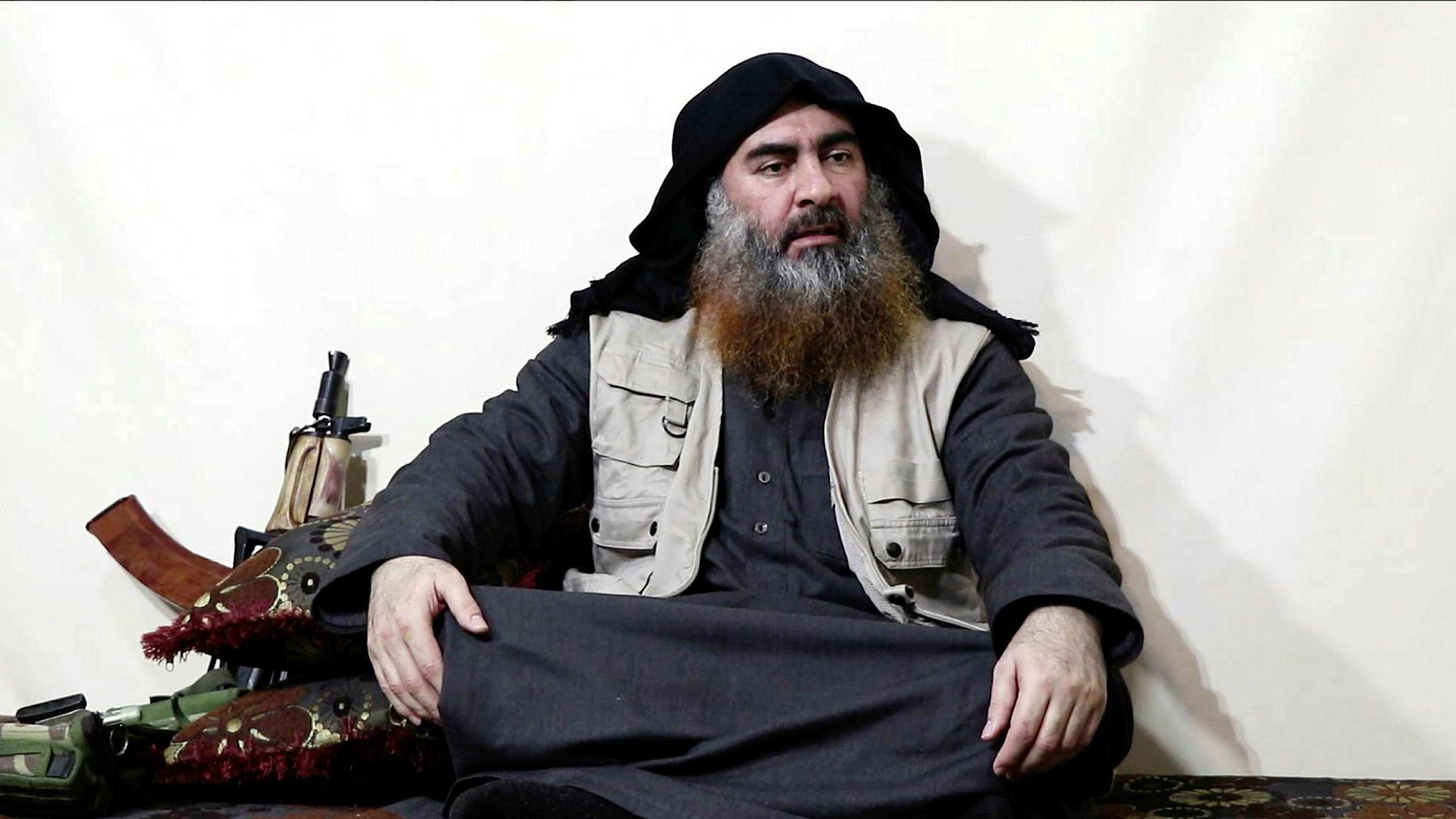 Terrorlederen Abu Bakr al-Baghdadi ble gitt liten plass i IS-propagandaen.