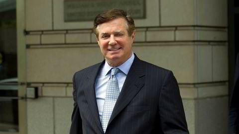Paul Manafort, Donald Trumps tidligere valgkampsjef, er tiltalt for flere forhold.