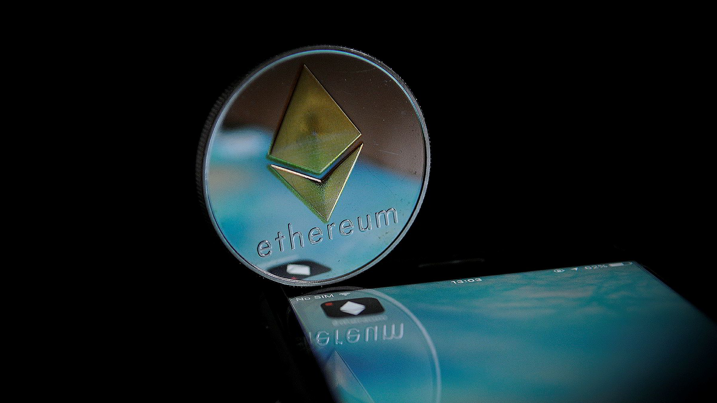 Ethereum er en åpen kildekode programvareplattform basert på blockchain-teknologi.