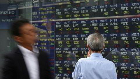 Det settes nye rekorder ved børser over hele verden. Nikkei-indeksen er på det høyeste nivået på over 21 år. Det har tatt Bangkok-børsen 24 år å komme tilbake til dagens nivå.