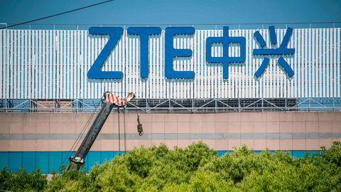 Administrasjonen til Donald Trump letter de knusende sanksjonene mot kinesiske ZTE.