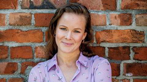 Martine Lunder Brenne ser ikke poenget i å jakte titler eller jobber bare for å ha det på CV-en.  – Jeg tror på hardt arbeid og at man ikke kan begynne på toppen, men man bør først og fremst like jobben sin her og nå, sier den nye direktøren for Egmonts Ung-område.