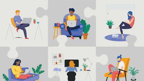Det er fordeler ved hjemmekontoret utover å kunne sitte i møter i underbukser.
