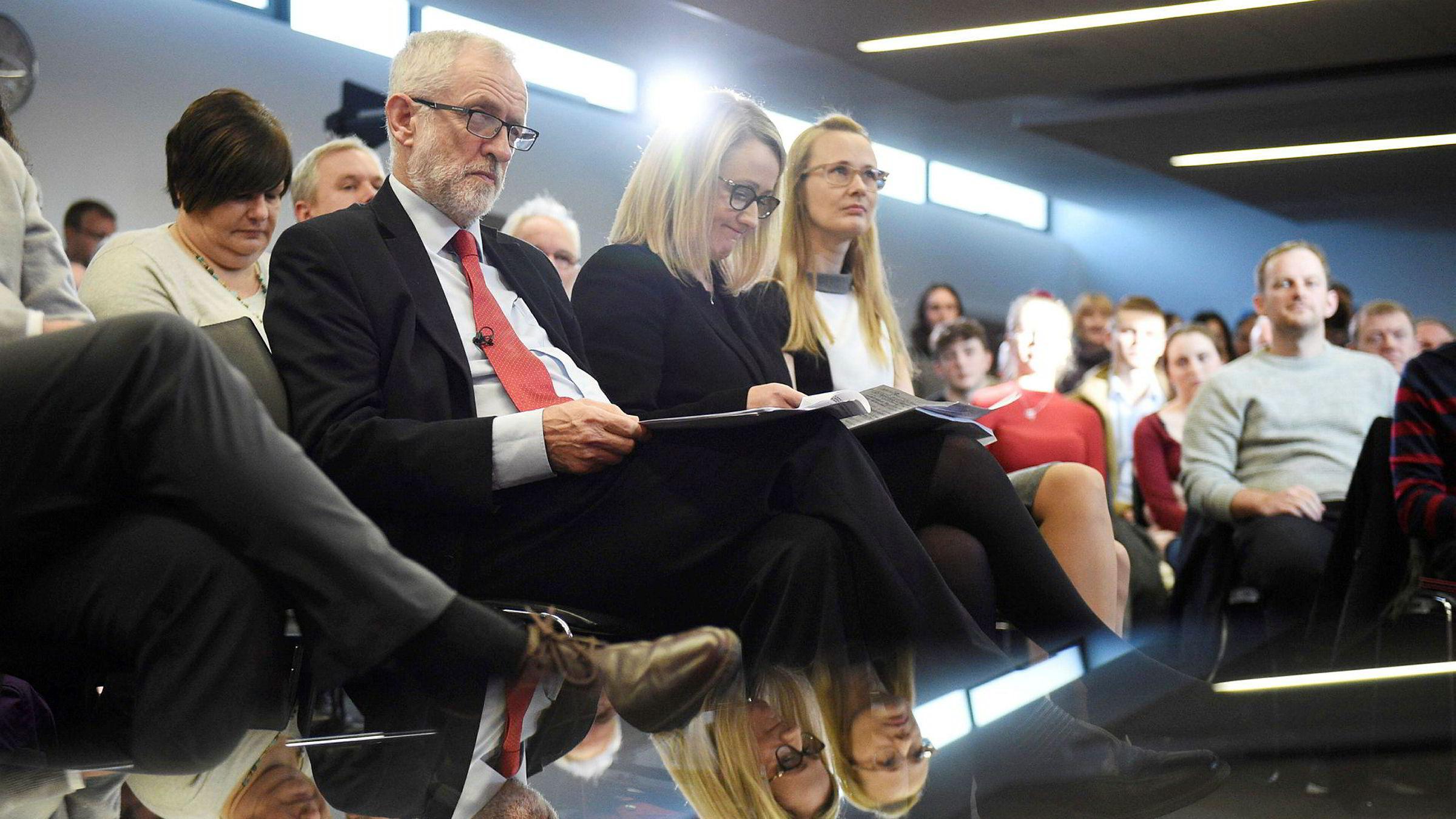 Labour-leder Jeremy Corbyn er historisk upopulær før Parlamentsvalget i desember.