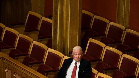 Roller snudd: Før har Frp felt borgerlige regjeringer. Carl I. Hagen har rekord i mistillitsforslag.