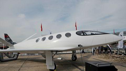 El-flyet Alice, en prototyp fra israelske Eviation, ble fremvist under Paris Air Show i juni i fjor.