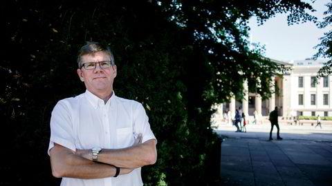 Om all undervisning foregår på nett frykter rektor Svein Stølen på Universitetet i Oslo større frafall.