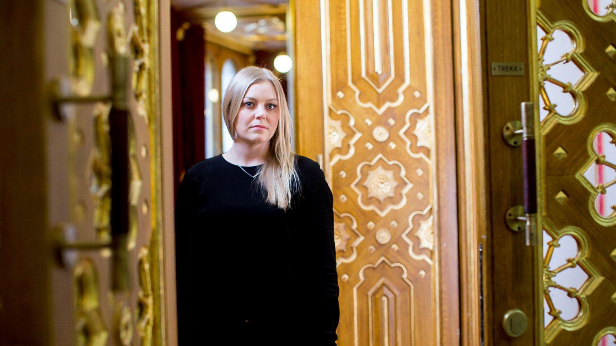 Tina Bru er i dag stortingsrepresentant, og blir nå statsråd, ifølge DNs kilder.