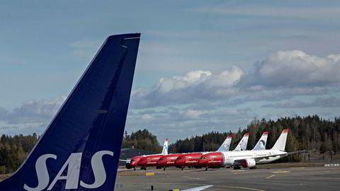 Luftfartstilsynet purrer på SAS og Norwegian for å få fortgang i refusjoner for kansellerte avganger.