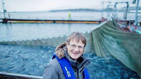 Inge Berg, eier og administrerende direktør i Nordlaks-konsernet. Berg sier til DN at 2020 går langt tråere enn fjoråret.
