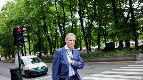 Konsernsjef Rolv Erik Ryssdal i Adevinta.