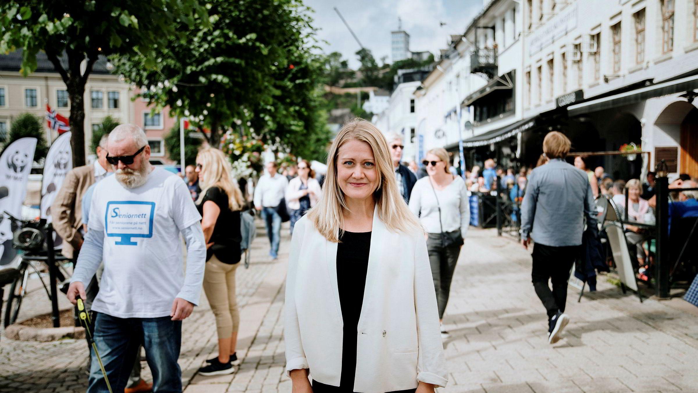 Astrid Bergmål, leder i Virke Reiseliv, er utrolig skuffet over regjeringens nye ordning for pakkereisearrangørene. Her på et bilde tatt i 2019 før koronarestriksjonene.