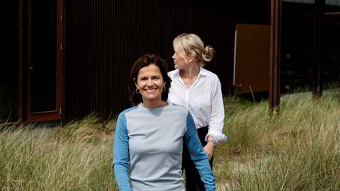 Ana Fonseca Nordang (foran) skal lede Anders Opedals overgangsteam. Her er hun sammen med juridisk direktør i Equinor Siv Helen Rygh Torstensen.