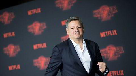 Innholdssjef Ted Sarandos i Netflix lover sitt norske publikum en stor norsk Netflix-produksjon.