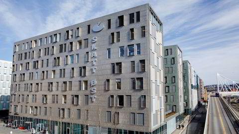 Kontorene til Skatt øst på Grønland i Oslo.