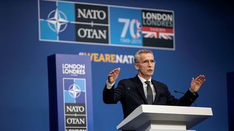 Jens Stoltenberg: – USA har konsultert med Nato om uttrekning fra Tyskland