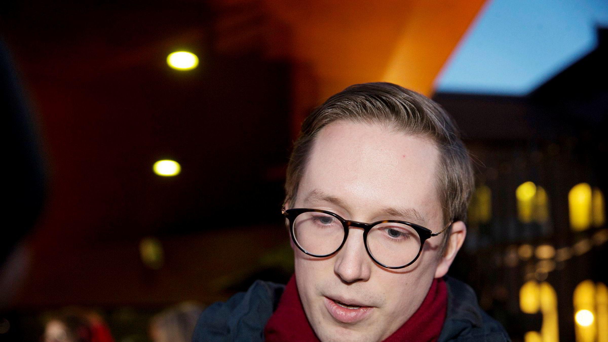 Tidligere Unge Høyre-leder Kristian Tonning Riise snakker ut etter Metoo-skandalen.