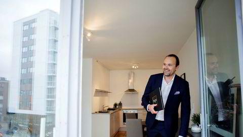Vi kan konkludere med at vårrushet er avlyst, det kommer ikke, mener eiendomsmegler Anders Langtind.