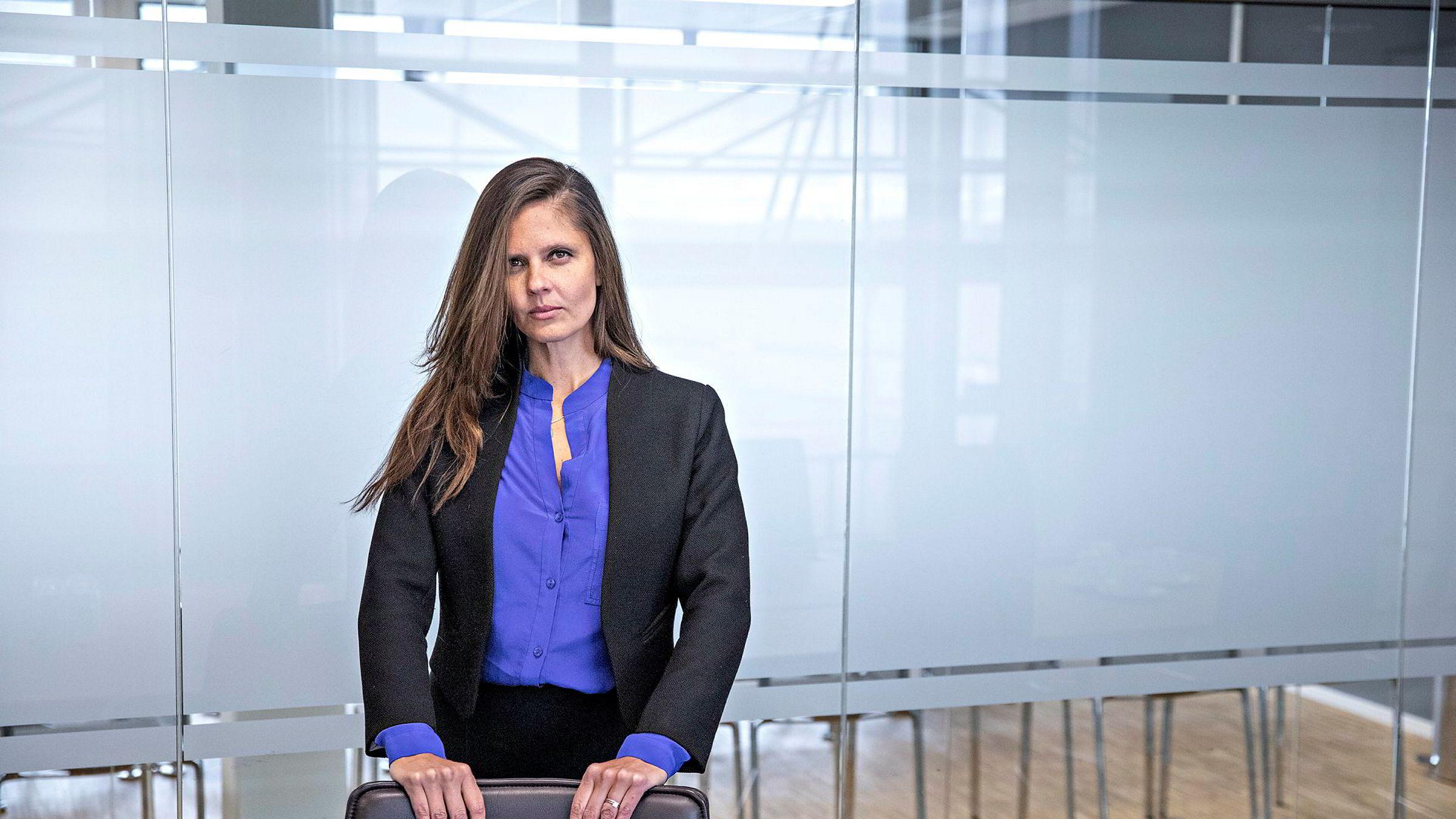 Nadia Martin Wiggen, oljeanalytiker i Pareto Securities.