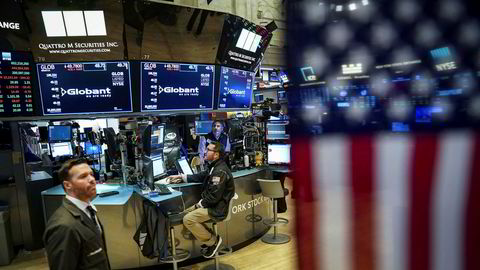 Dow Jones er fortsatt inne i en god uke på Wall Street selv om indeksene faller noe torsdag ved handelsstart.