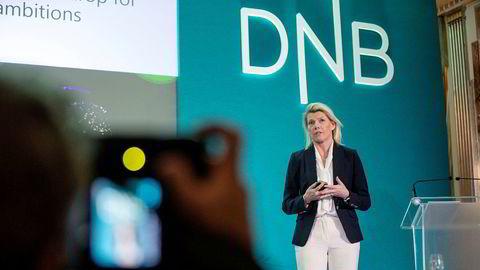 DNB og konsernsjef Kjerstin Braathen er rammet av en hvitvaskingsskandale.