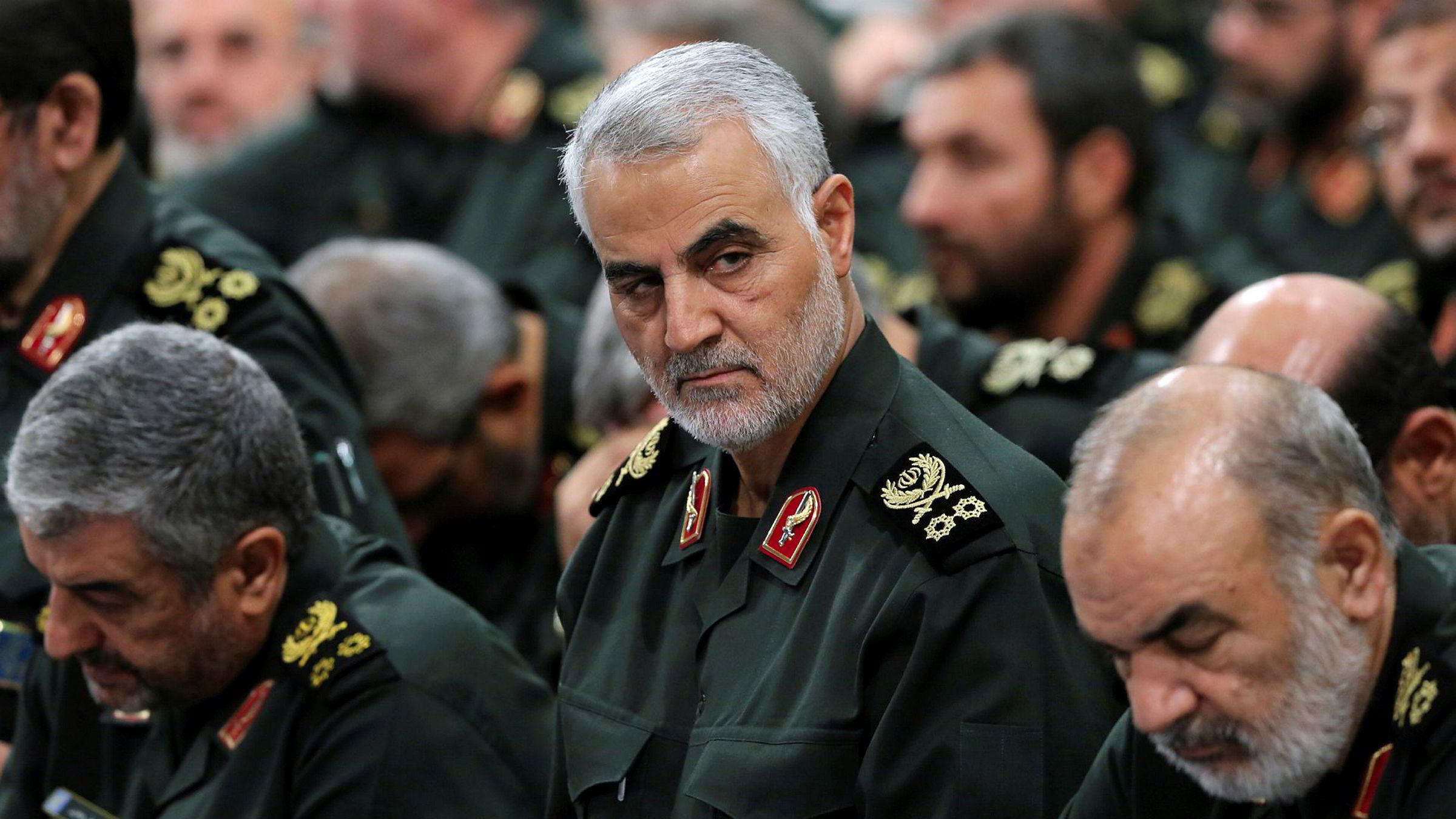 Det meste som finnes av internasjonale ekspertise mener det amerikanske droneangrepet fredag, som drepte Irans antatt nest mektigste mann, general Qasem Soleimani i Revolusjonsgarden, øker sjansen dramatisk for en ny krig i Midtøsten