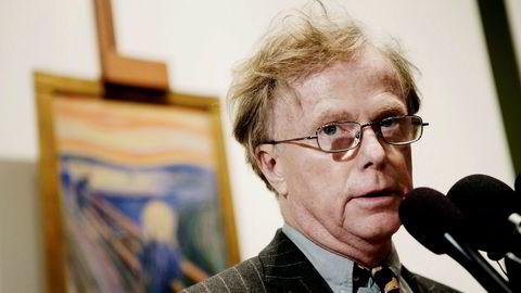 Petter Olsen hanket inn 615 millioner kroner fra salget av Edvard Munchs «Skrik» hos Sotheby`s i New York i 2012. Pengene har gått til å realisere museums- og hotellprosjektet på Ramme Gård i Hvitsten.