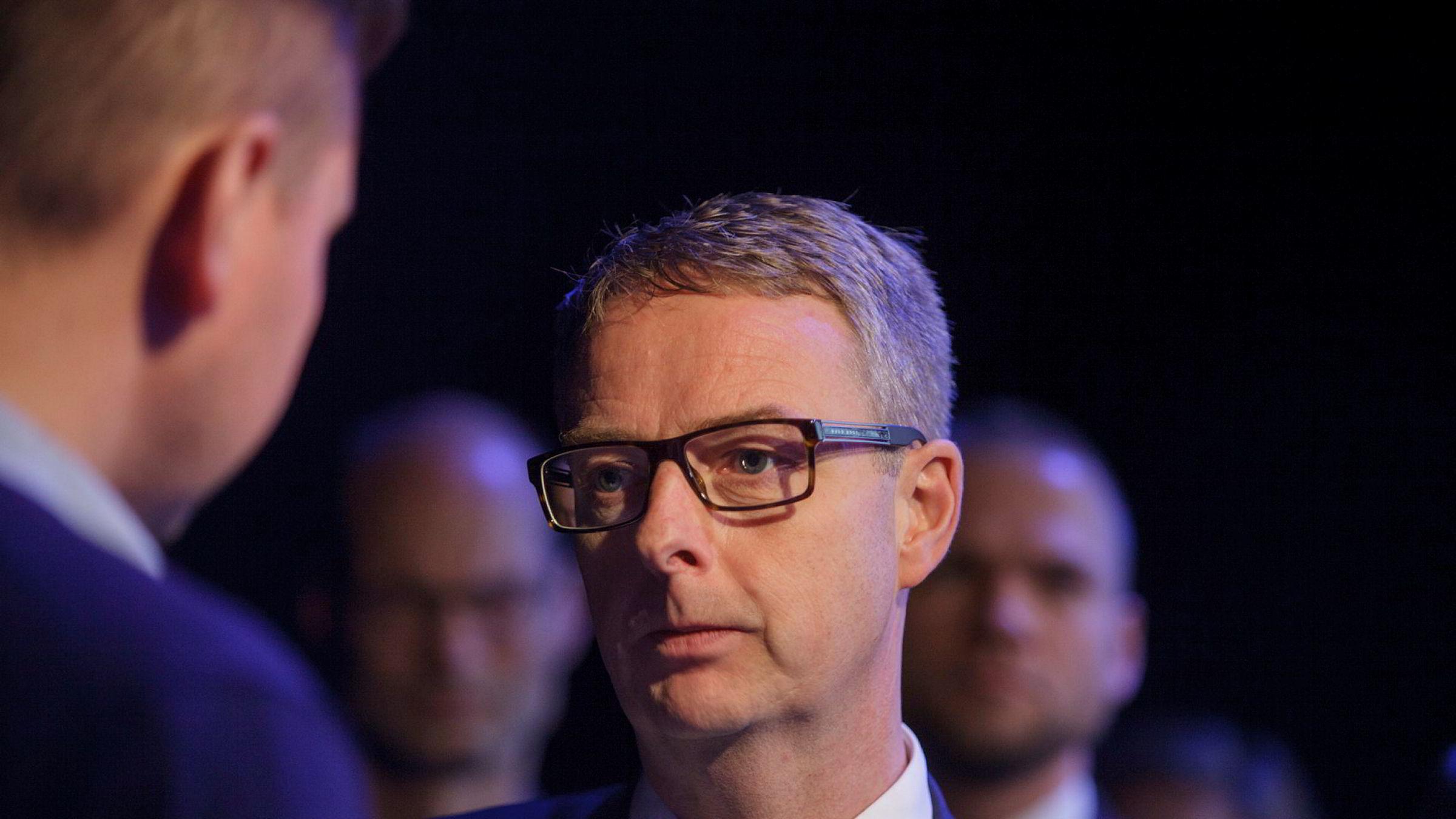 Olje og energiminister Terje Søviknes.