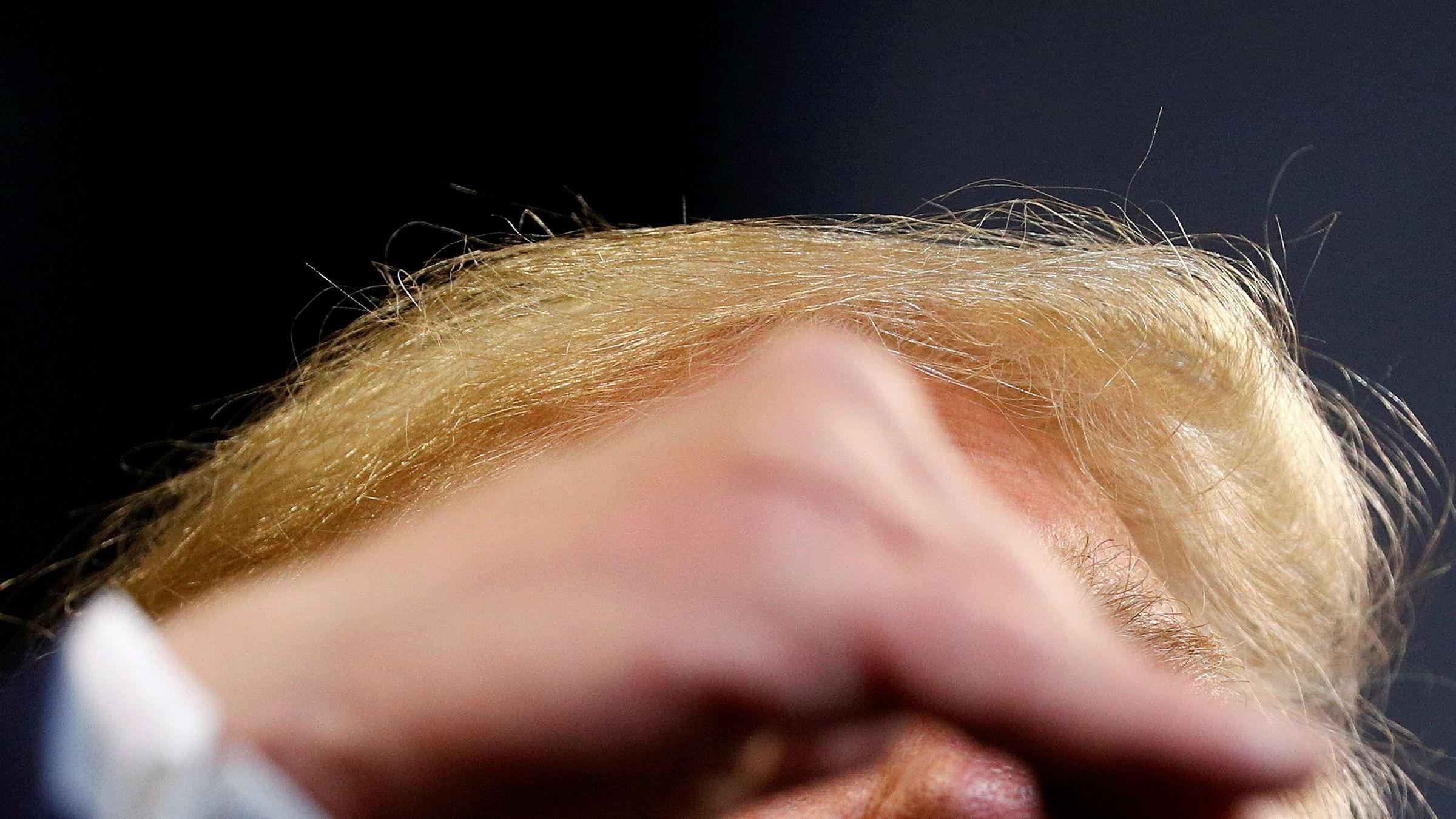 Det ser lysere ut for verdensøkonomien. USAs president Donald Trump er kanskje den største usikkerhetsfaktoren.