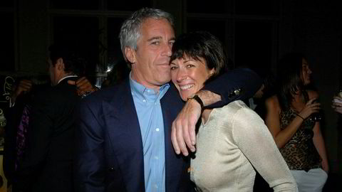 Jeffrey Epstein og Ghislaine Maxwell, her fra 2005 i New York. Maxwell har sittet i varetekt ved Metropolitan Detention Center i Brooklyn i New York siden 6. juli.