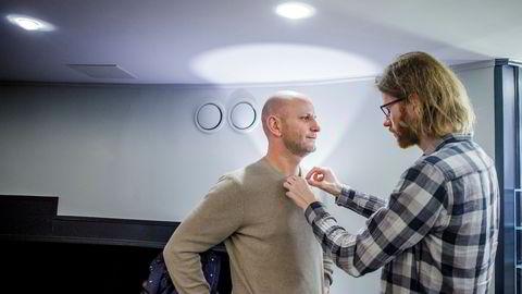 Konsernsjef Robin Reed i Gaming Innovation Group presenterte spillselskapets resultater på Hotel Continental i Oslo.