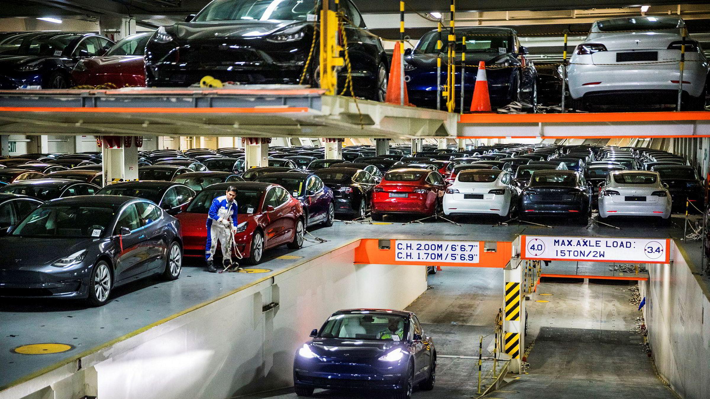 Til tross for rekordsalg av nye Tesla-modeller, falt salget av nye biler i fjor. Fallet startet allerede i januar 2019.