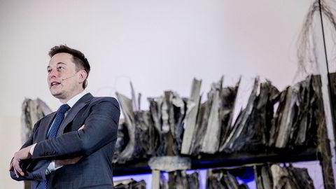 Tesla-sjef Elon Musk har sett selskapets markedsverdi øke med 516 prosent det siste året, ifølge Infront.
