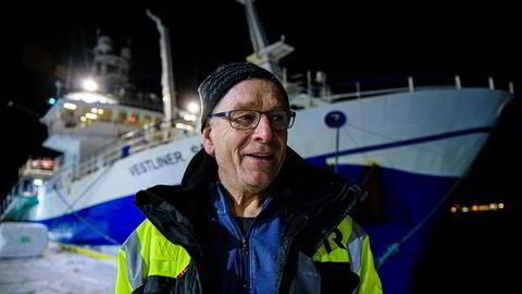 Fiskebåten Vestliner med kaptein Bjørn Nygård har opplevd et av de beste fiskeårene i manns minne. For sjette år på rad setter fiskerne ny rekord i inntekter.