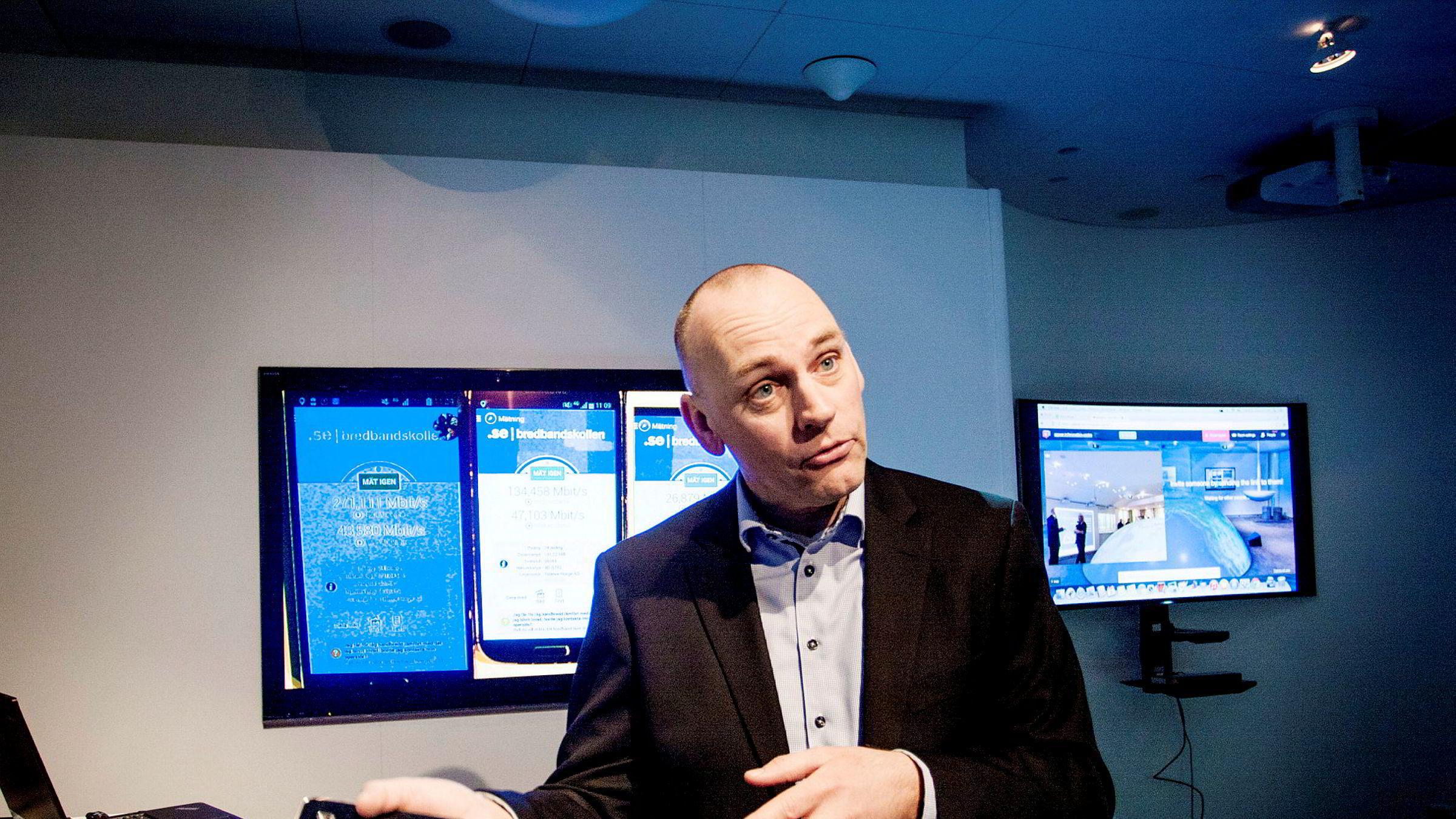 Bjørn Ivar Moen kommer fra Telenor og skal lede det nye norsk-svenske samarbeidsselskapet.