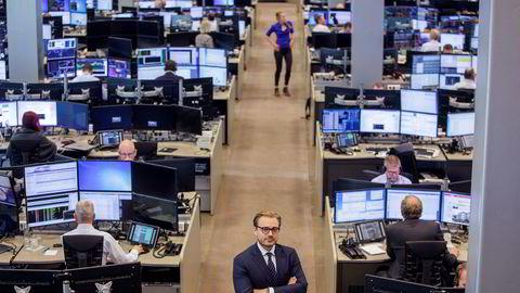 Aksjesjef Alexander Opstad i DNB Markets kan glede seg over et betydelig sterkere andre kvartal.