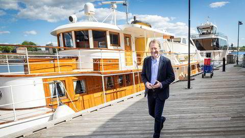 Avfallshåndtering er en av de mest lønnsomme selskapene til Bjørn Rune Gjelsten. Her fra Aker Brygge i Oslo.