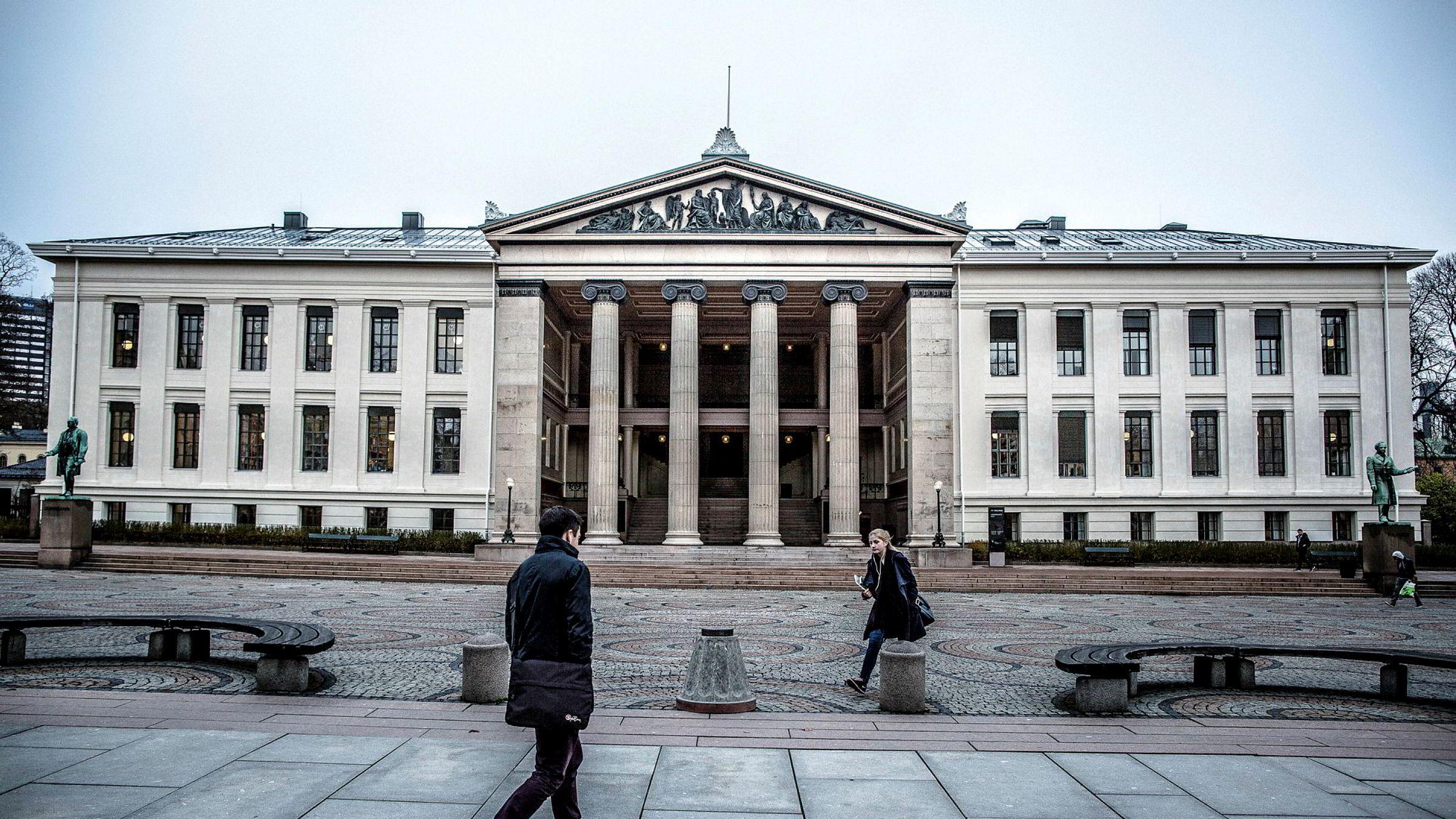 Universitetet i Oslo har studiet med det tøffeste opptakskravet: 68,5 poeng på ordinærkvoten for å komme inn på medisinstudiet i fjor.