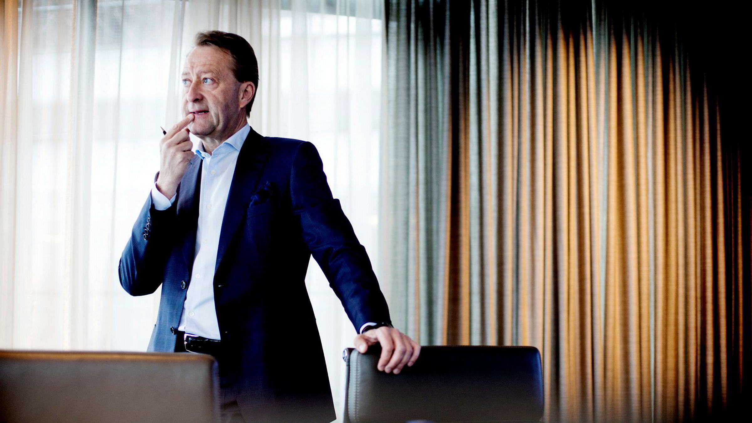 Bjørn Rune Gjelsten satser på hest.