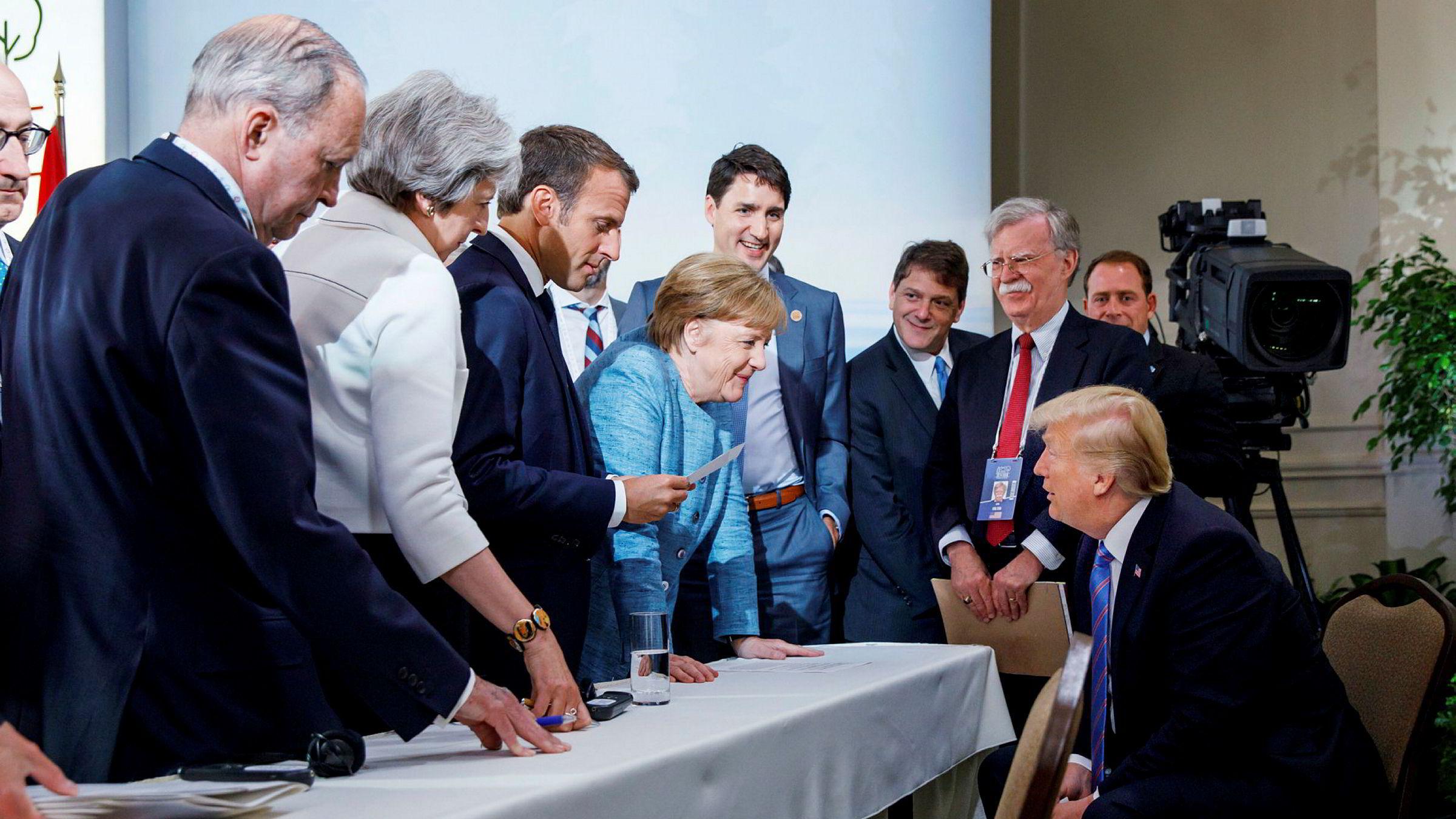 USAs vestlige allierte vender seg mot Donald Trump.