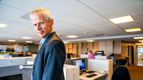 Skattedirektør Hans Christian Holte har vært skattedirektør siden 2013 og blir nå Nav-direktør.