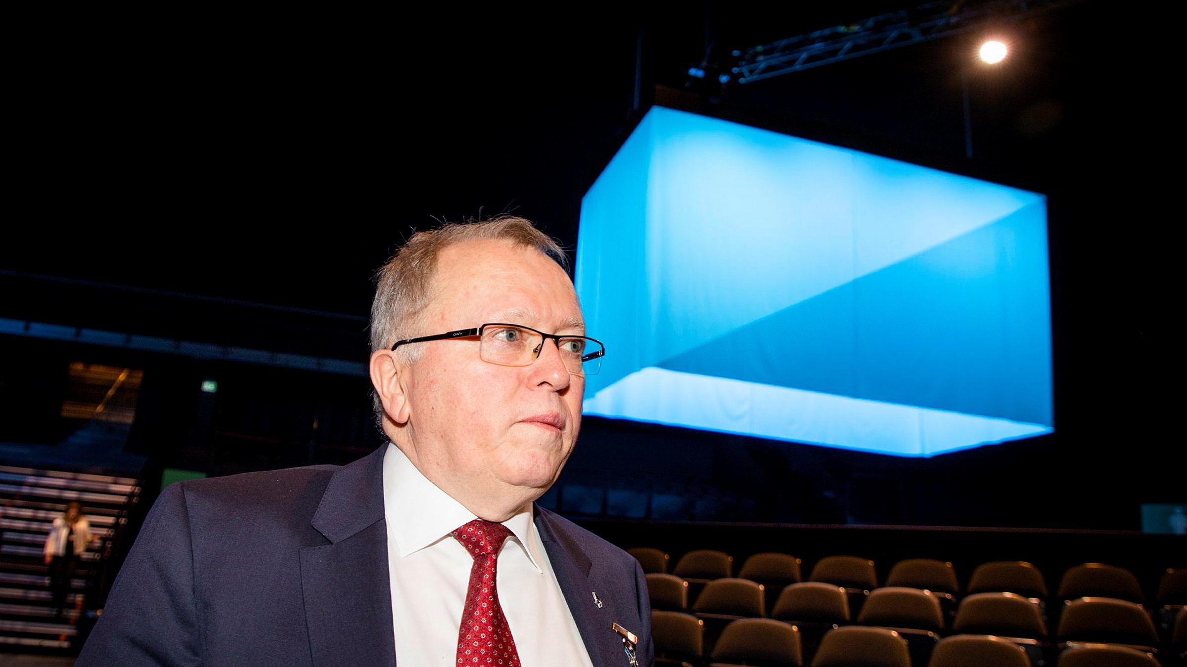 Konsernsjef Eldar Sætre i Equinor er bekymret for utviklingen i Midtøsten.