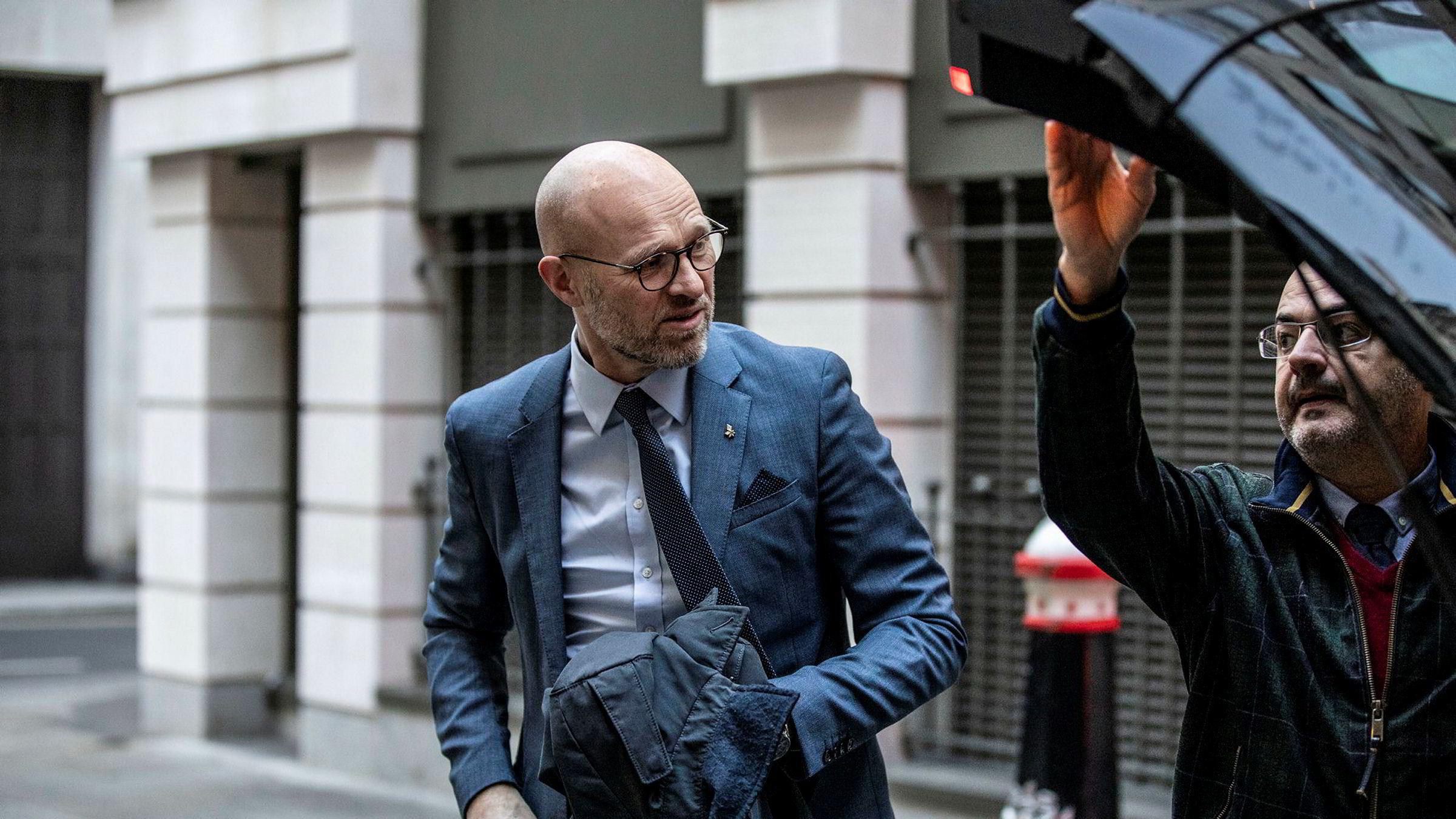 Equinors direktør for utvikling og internasjonal produksjon, Torgrim Reitan,  sliter med å forklare hva som egentlig er sagt om tapene i USA
