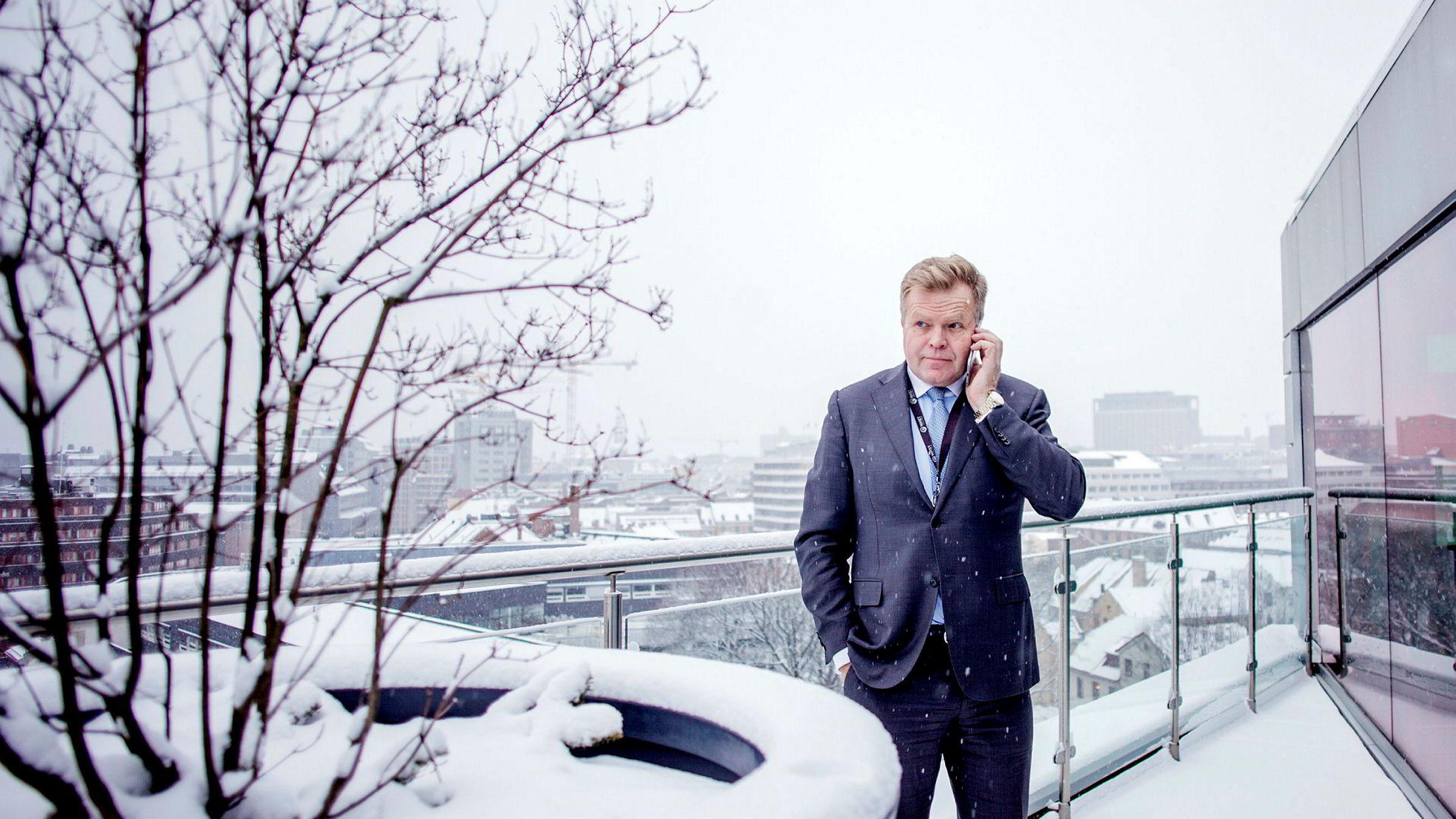 NHSTs konsernsjef Gunnar Bjørkavåg slutter. Foto: