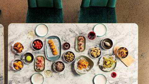 Variert. Med den nye restauranten sin vil Andreas Viestad, Dag Tjersland og Nelson Fernandes hente Venezias smårett-tradisjon til Oslo.