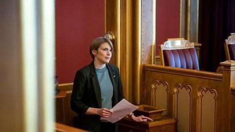 Kari Elisabeth Kaski, finanspolitisk talsmann for SV, er fortsatt kritisk til avtalen.