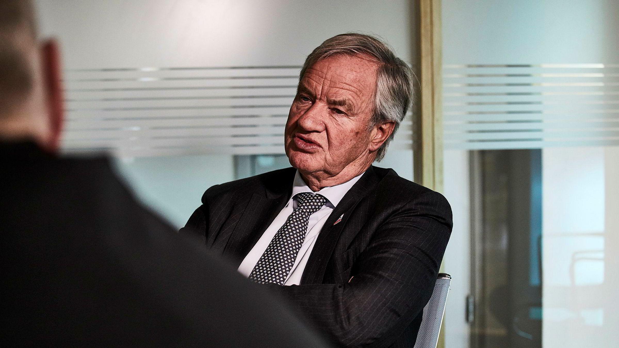 Bjørn Kjos, konsernsjef i Norwegian.