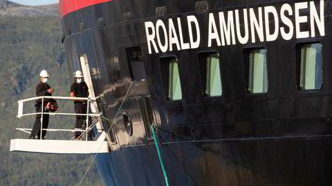 «Det er av særlig interesse å få avklart hvorvidt mannskap om bord på fartøyet hadde grunn til å iverksette tiltak for å forhindre videre smitte av covid-19 ved anløp av «MS Roald Amundsen» til Tromsø havn fredag 31. juli», skriver Troms politidistrikt i en pressemelding.