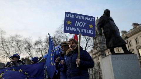 Storbritannia er i ferd med å forlate EU.