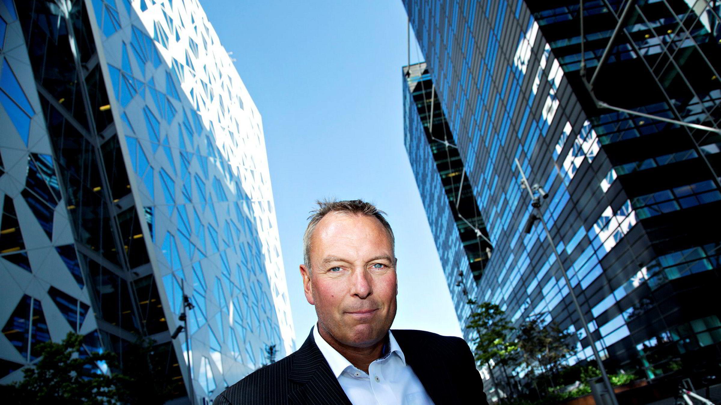 Administrerende direktør Rolf Thorsen i Selvaag Bolig er fornøyd med gode resultater i 2019.